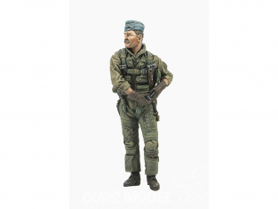 Hobby Fan kit personnages HF756 Pilote F-4 Ghost II Vietnam Air Combat ACE Moustache 1/32