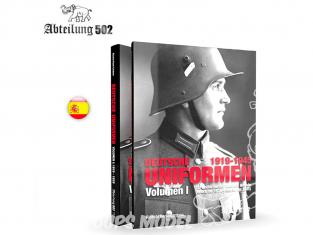 ABTEILUNG502 livre ABT731 Deutsche Uniformem 1919 - 1945 Volume 1 (1919 - 1935) en Espagnol