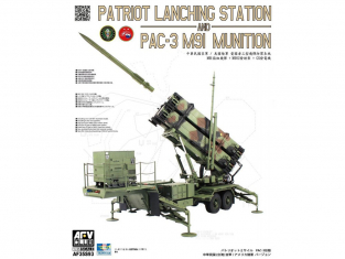 Afv Club maquette militaire 35S93 M901 Launching Station and MIM-104F PATRIOT PAC-3 1/35