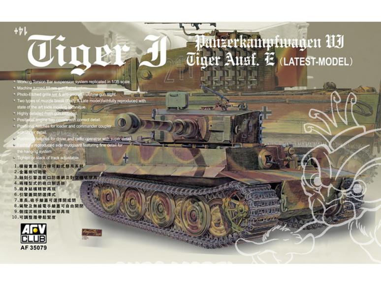 afv club maquette militaire 35079 panzer 1/35