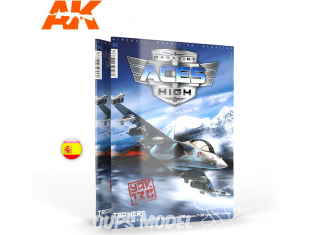 Ak interactive Magazine Aces High AK2938 N°18 Entrenadores en Espagnol
