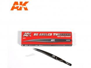 AK interactive ak9161 Pince de précision courbe pointe fine