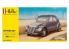 Heller maquette voiture 56175 STARTER KIT Citroen 2CV Inclus peintures principale colle et pinceau 1/43