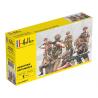 Heller maquette militaire 49604 Infanterie Britannique 1/72