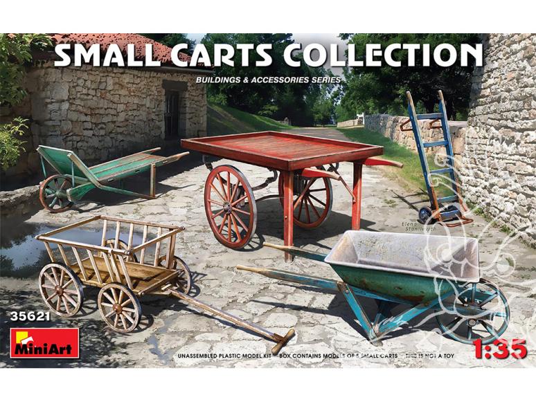Mini Art maquette militaire 35621 COLLECTION DE PETITS CHARIOTS 1/35