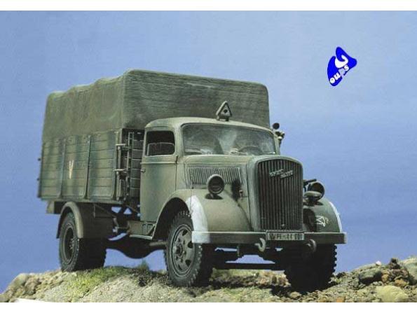 italeri maquette militaire 0216 Opel Blitz 1/35