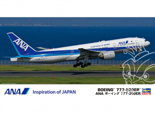 Hasegawa maquette avion 10841 ANA Boeing 777-200ER 1/200