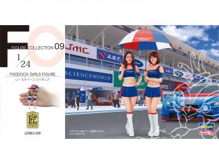 Hasegawa maquette voiture 29109 Ombrella Girl's 1/24