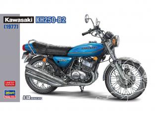 Hasegawa maquette moto 21729 Kawasaki KH250-B2 1977 1/12