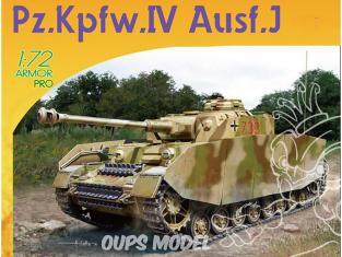 Dragon maquette militaire 7409 Pz.Kpfw.IV Ausf.J Early Production 1/72