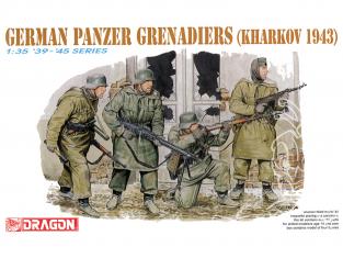 dragon maquette militaire 6059 Panzer Grenadiers Allemand Kharkov 1943 1/35
