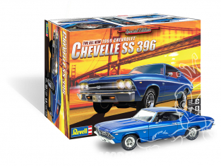 Revell US maquette voiture 4492 1969 Chevelle SS 396 1/25
