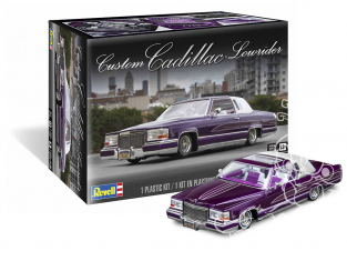 Revell US maquette voiture 4438 Custom Cadillac Lowrider 1/25