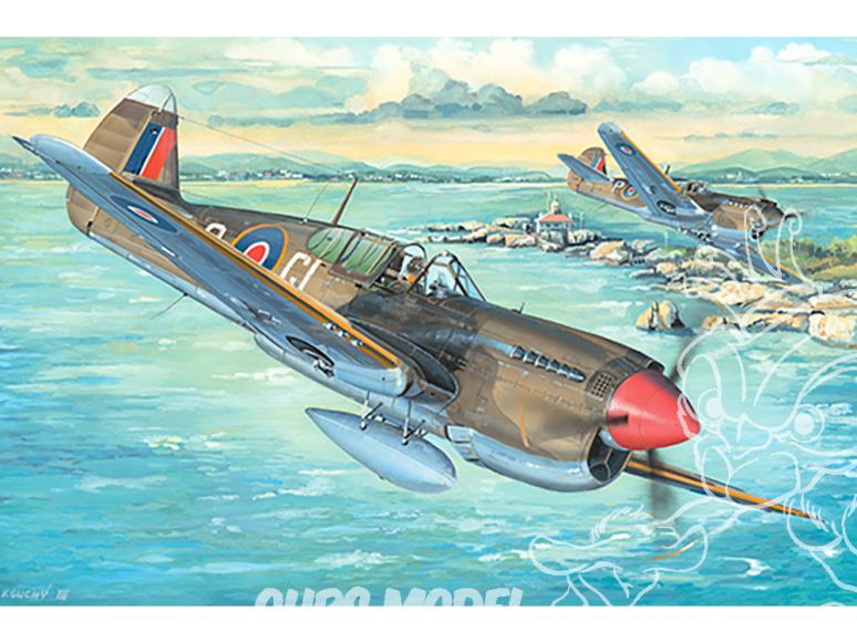 TRUMPETER maquette avion 02211 P-40M War Hawk 1/32