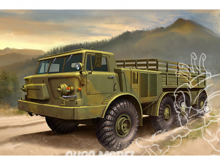 TRUMPETER maquette militaire 01073 Zil-135 Russe 1/35