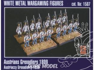 Mirage maquette FIGURINES 1507 Grenadiers autrichiens 1809 1/72