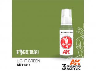 Ak interactive peinture acrylique 3G AK11411 VERT CLAIR 17ml FIGURINE
