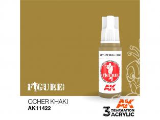 Ak interactive peinture acrylique 3G AK11422 OCRE KAKI 17ml FIGURINE