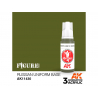 Ak interactive peinture acrylique 3G AK114230 BASE UNIFORME RUSSE VERT 17ml FIGURINE