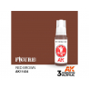 Ak interactive peinture acrylique 3G AK114234 ROUGE-MARRON 17ml FIGURINE