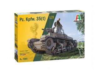 Italeri maquette militaire 7084 Pz. Kpfw. 35(t) 1/72