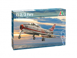Italeri maquette avion 2811 North American FJ-2/3 Fury 1/48