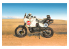 Italeri maquette moto 4643 Cagiva Elefant 850 Paris-Dakar 1987 1/9