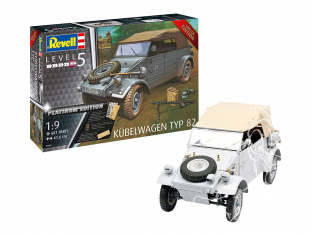 Revell maquette militaire 03500 Kübelwagen Typ 82 1/9