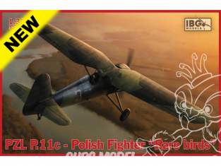 "IBG maquette avion 32004 PZL P.11c Polish Fighter ""Rare Birds"" 1/32"