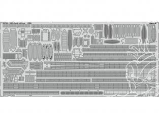 Eduard photodecoupe bateau 53266 Rambardes HMS York Trumpeter 1/350