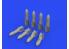 Eduard kit d'amelioration brassin 632170 Bombes SC 50 Allemandes WWII 1/32
