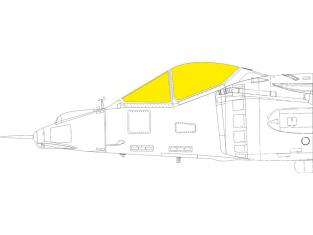 Eduard Express Mask EX766 AV-8A TFace Kinetic 1/48