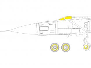 Eduard Express Mask CX597 MiG-25PD Icm 1/72