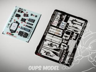 Eduard Space décalques 3D 3DL48013 MiG-15 Bronco / Hobby 2000 1/48