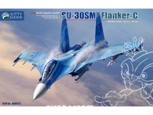 Kitty Hawk maquette avion 80171 Soukhoï Su-30SM Flanker-H 1/48