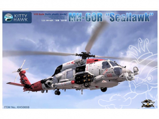 Kitty Hawk maquette hélicoptère kh50008 Sikorsky UH-60 Black Hawk 1/35