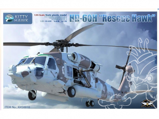 Kitty Hawk maquette hélicoptère kh50010 Sikorsky HH-60 Rescue Hawk 1/35