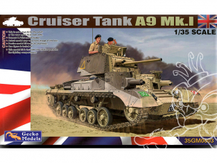 Gecko Models maquettes militaire 35GM0003 Cruiser A9 Mk I 1/35