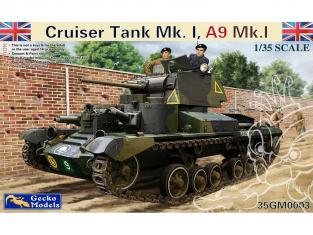 Gecko Models maquettes militaire 35GM0004 Cruiser A9 Mk I CS 1/35