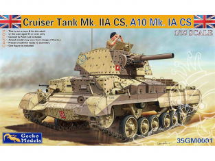 Gecko Models maquettes militaire 35GM0001 Cruiser A9 Mk IA CS 1/35
