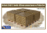 Gecko Models maquettes militaire 35GM0020 Palettes de Boites de minitions L31A3 2 1/35