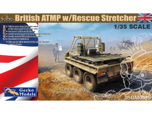 Gecko Models maquettes militaire 35GM0035 ATMP Britannique avec civière de sauvetage 1/35