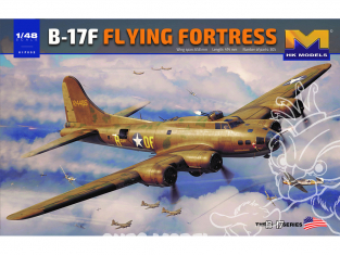 HK Models maquette avion 01F002 B-17F Flying Fortress 1/48