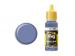 MIG peinture authentique 257 Bleu azur 17ml