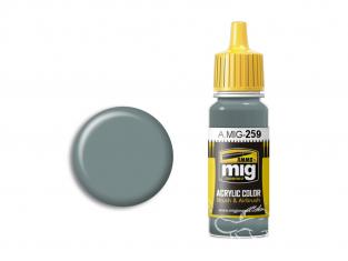 MIG peinture authentique 259 IJA Gris vert clair 17ml