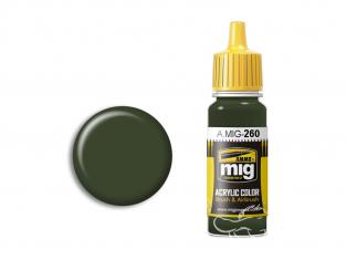 MIG peinture authentique 260 IJA Vert Kawasaki 17ml