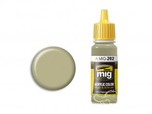 MIG peinture authentique 262 IJN Gris cendre 17ml