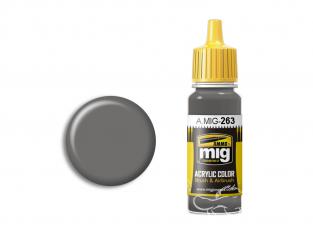 MIG peinture authentique 263 IJN Gris moyen 17ml