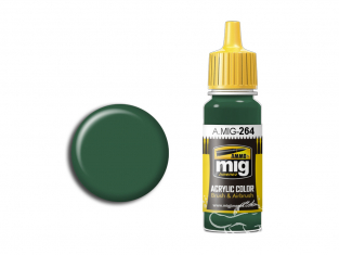 MIG peinture authentique 264 IJN Vert foncé Nakajima 17ml