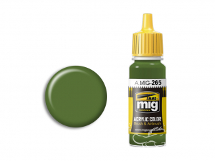 MIG peinture authentique 265 IJN Vert Mitsubishi 17ml
